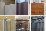 Въездные ворота откатные,  распашные,  сдвижные автоматические ворота. - foto 1