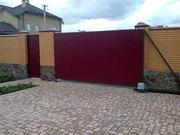 Въездные ворота откатные,  распашные,  сдвижные автоматические ворота. - foto 2
