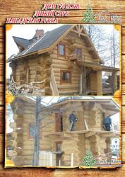Построить рубленый дом канадской рубки 171 м² в Крыму - foto 0