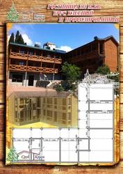 Выстроить гостиницу из сруба профилированного 310 м² в Крыму - foto 1