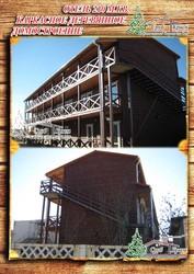 Построить деревянный отель по каркасной технологии 210 м² в Крыму